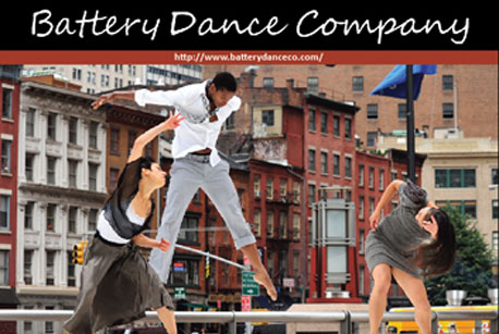 Performance of The Battery Dance Company
